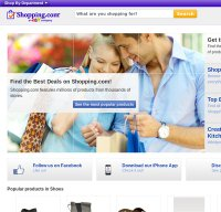 shopping.com screenshot