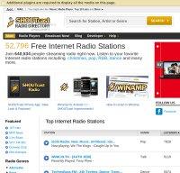 shoutcast.com screenshot