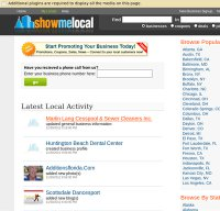 showmelocal.com screenshot