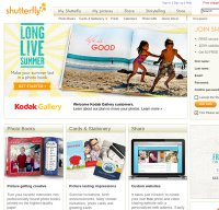 shutterfly.com screenshot