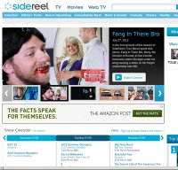 sidereel.com screenshot