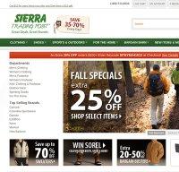 sierratradingpost.com screenshot