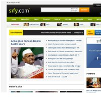 sify.com screenshot