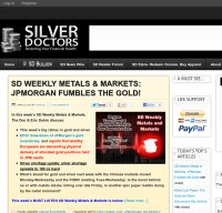 silverdoctors.com screenshot
