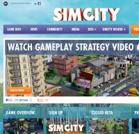 simcity.com screenshot