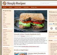 simplyrecipes.com screenshot