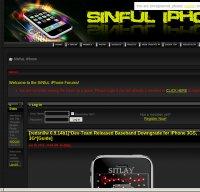 sinfuliphone.com screenshot