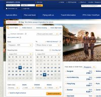 singaporeair.com screenshot