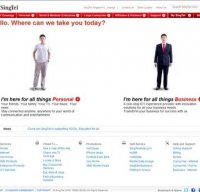 singtel.com screenshot