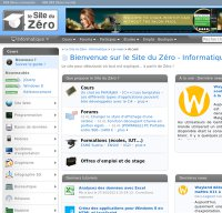 siteduzero.com screenshot