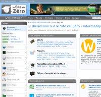 siteduzero.com screenshot