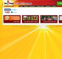 sixflags.com screenshot