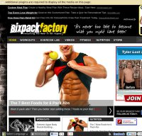 sixpackfactory.com screenshot
