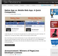 sixrevisions.com screenshot