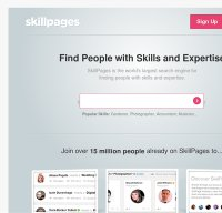 skillpages.com screenshot