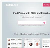skillpages.com screenshot