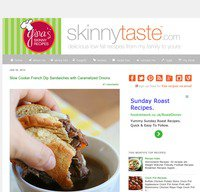 skinnytaste.com screenshot