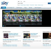 sky.com screenshot