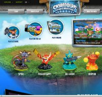 skylanders.com screenshot