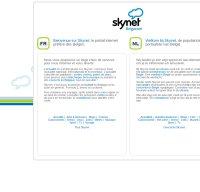 skynet.be screenshot