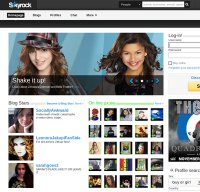 skyrock.com screenshot