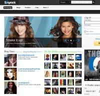 skyrock.com screenshot