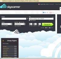 skyscanner.com screenshot