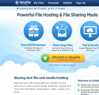 slingfile.com screenshot