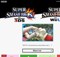 smashbros.com screenshot