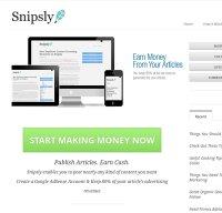 snipsly.com screenshot