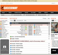 soccerway.com screenshot