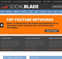 socialblade.com screenshot