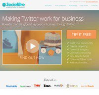 socialbro.com screenshot