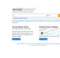 socialmention.com screenshot