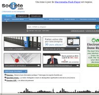 societe.com screenshot