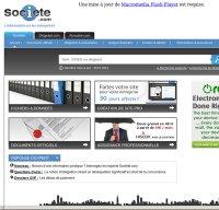 societe.com screenshot
