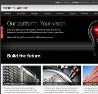 softlayer.com screenshot