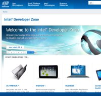 software.intel.com screenshot