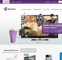 sonera.fi screenshot