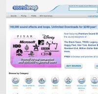 soundsnap.com screenshot