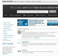 sourceforge.net screenshot