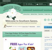 southernsavers.com screenshot