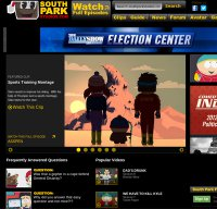 southparkstudios.com screenshot