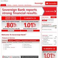 sovereignbank.com screenshot