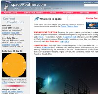 spaceweather.com screenshot