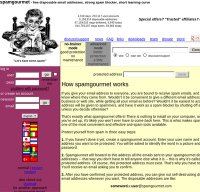 spamgourmet.com screenshot
