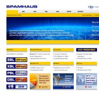 spamhaus.org screenshot