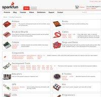 sparkfun.com screenshot