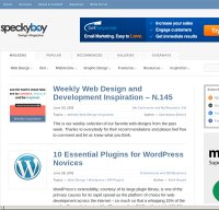 speckyboy.com screenshot