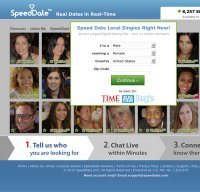 speeddate.com screenshot